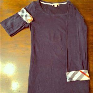 Woman's Burberry long sleeve tee shirt